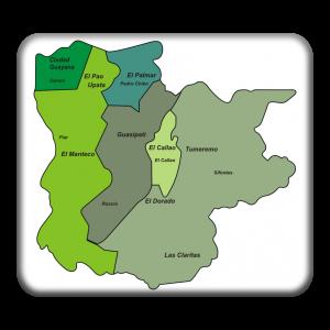 mapa division