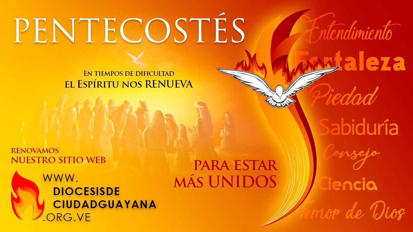 Lanzamiento Web – Pentecostés